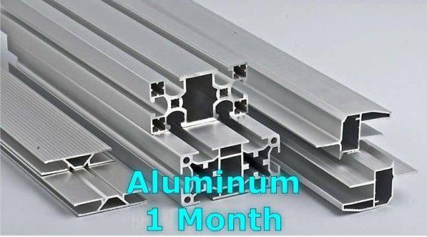 MCX Aluminium