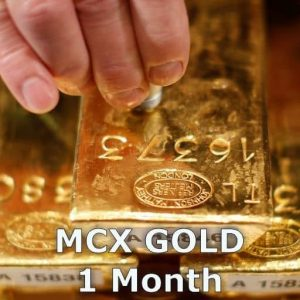 MCX Gold 1 Month