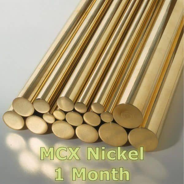 MCX Nickel 1 Month