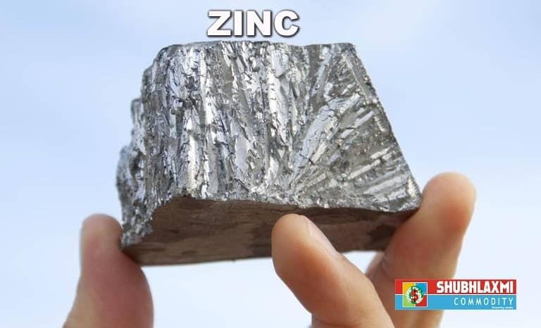 Zinc Rising gradually