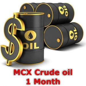 MCX Crude Oil 1 Month